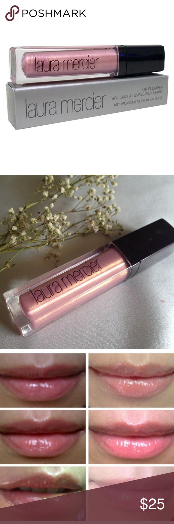 Laura Mercier Lip Plumper Gloss Pink Pearl New Plumping Lip Gloss Lip Plumper Pink Pearl