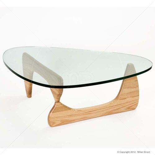 Noguchi Coffee Table Natural Buy The Glass Coffee Tables And