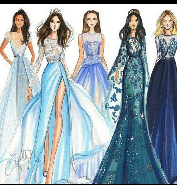 Model Dress Outfit Design Art Art Pinterest