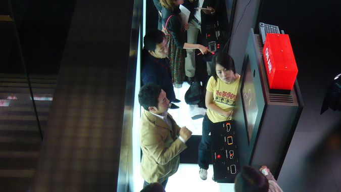 Interactive game + VJ for Mini in motor show by MESO