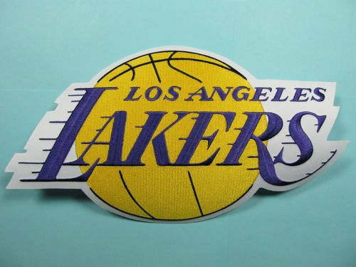 Authentic Nba Los Angeles Lakers Embroidered Patch Big 7 X 11 Inch Iron On Logo Ebay 14 97 Iron On Logos Nba Los Angeles Embroidered Patches