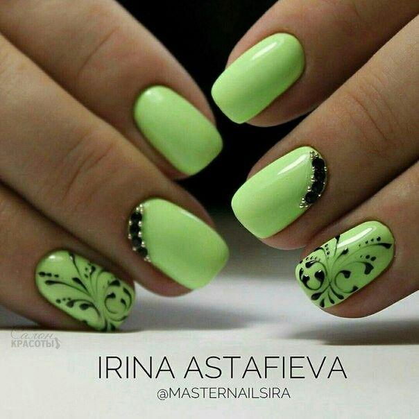Pin de Светлана Иванова en Дизайн ногтей | Pinterest | Gris