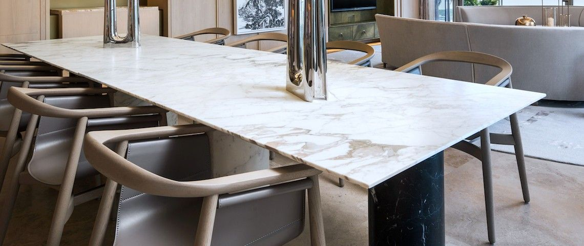 10 Extraordinary Dining Room Ideas With Marble Dining Tables Modern Dining Tables Dining Table Marble Marble Dining Dining Room Design Modern