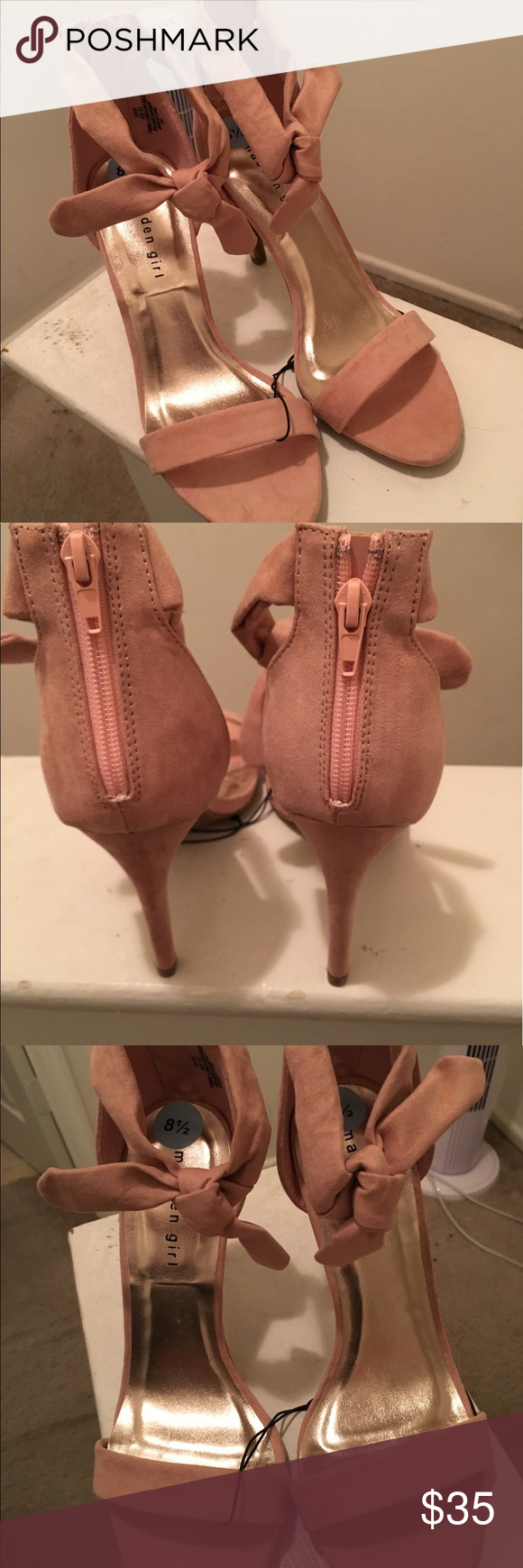 New Pink Blush Madden Girl 8.5 A summer must have! The bow detail is so sexy and edgy!!! Madden Girl Shoes
