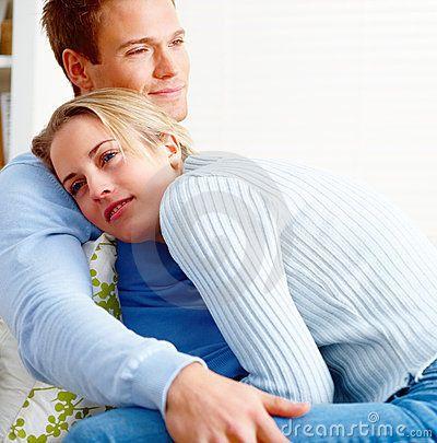 Romantic Couples Hugging