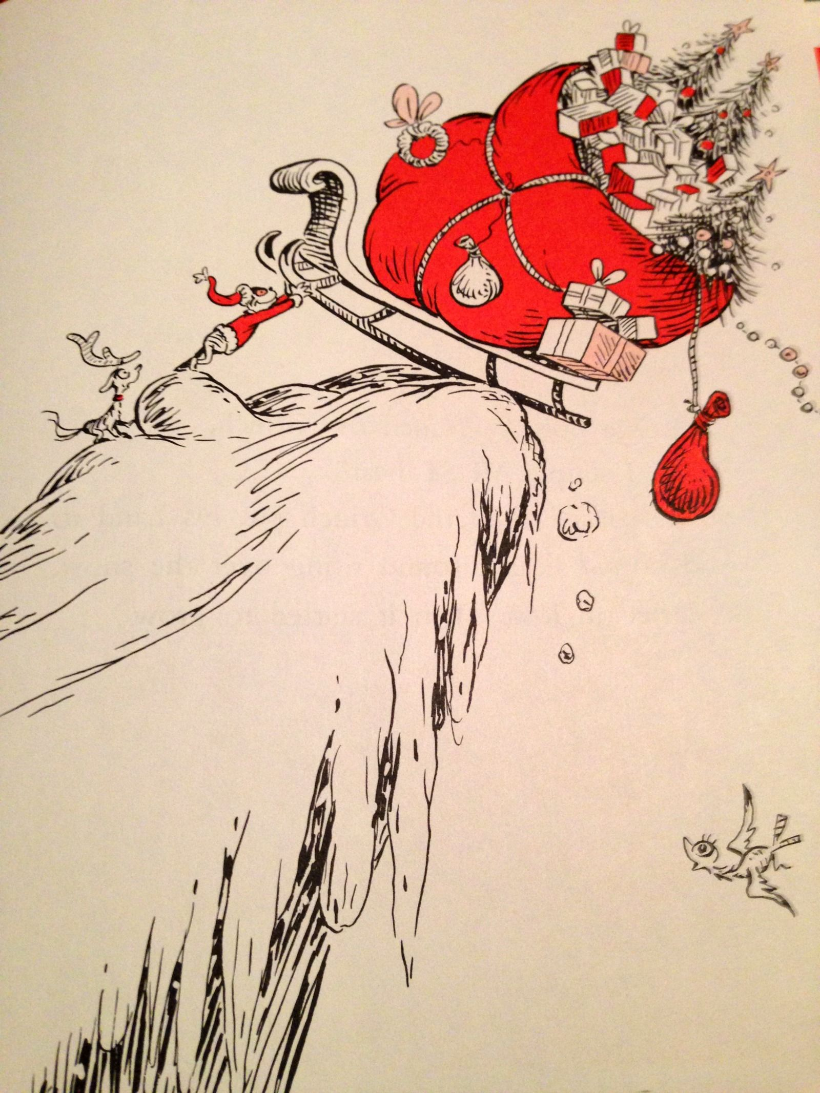 How The Grinch Stole Christmas By Dr Seuss Picture Book