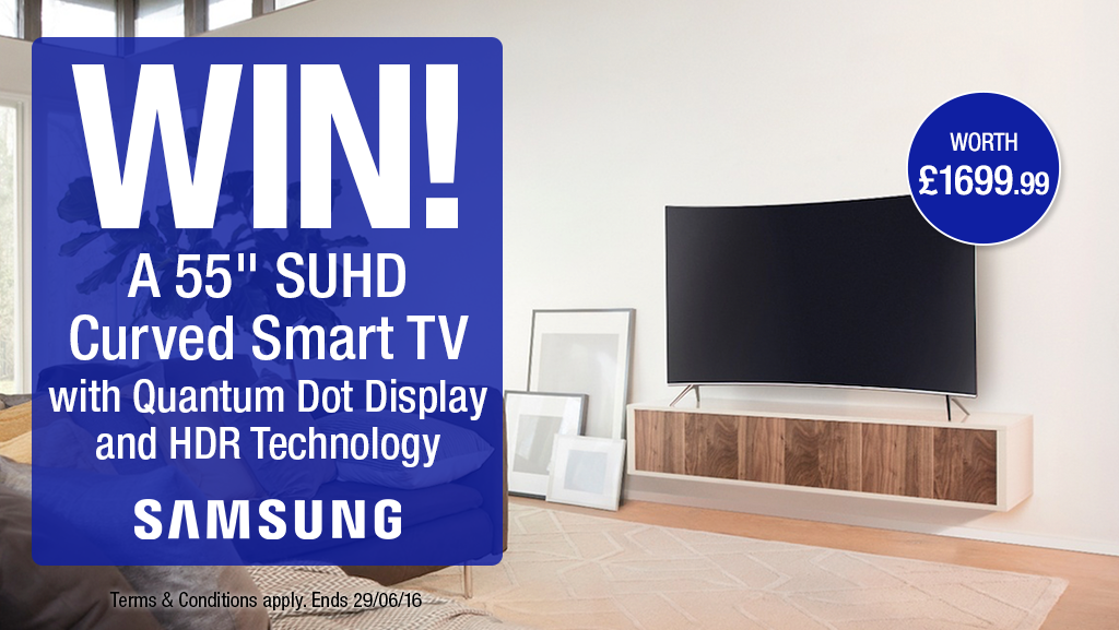 """#Samsung 55"""" SUHD Curved Smart TV competition - Winner: samITFC"""