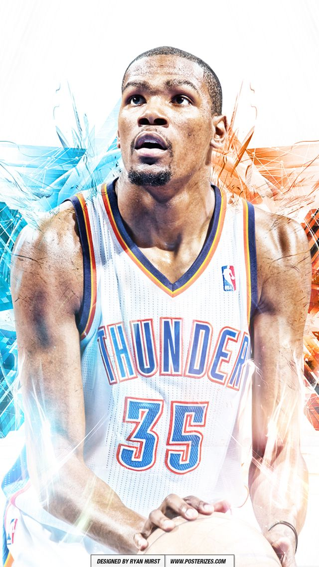 NBA Kevin Durant Iphone/Ipod Wallpaper