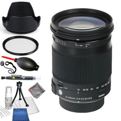 Sigma 18 300mm F 3 5 6 3 Dc Macro Os Hsm Contemporary Canon Ef Starter Kit New Canon Ef Starter Kit Stuff To Buy