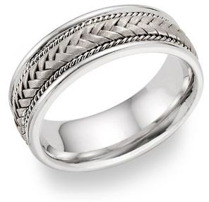 A Threefold Cord Is Not Quickly Broken Wedding Rings Lesofgold