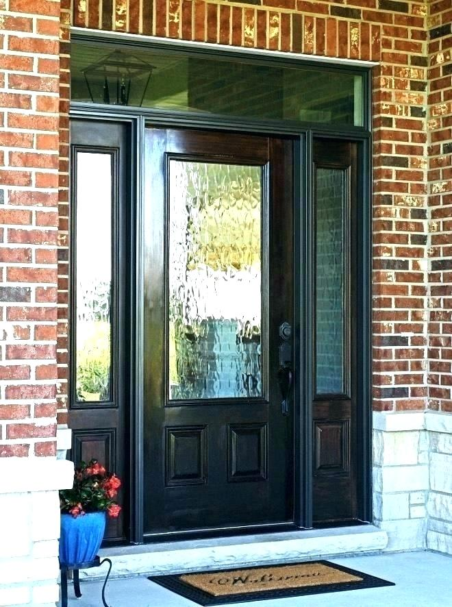 Entry Door Sidelights Craftsman Entry Door With Sidelights Lowes Front Door Sidelights Replacement Door Design Exterior Front Doors Entry Door With Sidelights Since they open to the outside, exterior doors attract public attention and should be both practical and stylish. pinterest