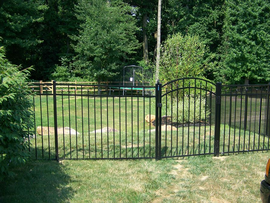 Aluminum All Type Fence Gate Design Fence Styles Fence