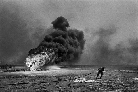 When The Oil Fields Burned Salt Of The Earth Photo