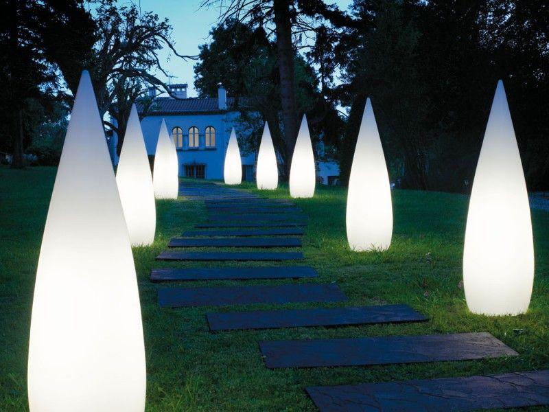 Low Voltage Outdoor Column Lighting Outdoor Floor Lamps Solar Lights Garden Outdoor Pathway Lighting