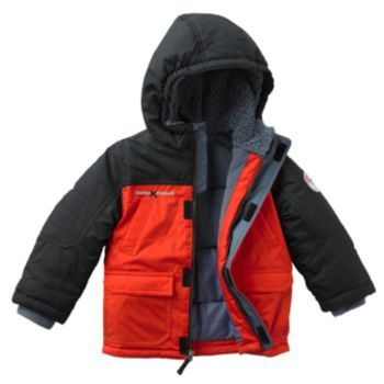 12M TO 5T RED R-WAY by ZEROXPOSUR BOY/'S INFANT-TODDLER 3-IN-1 SYSTEM JACKET