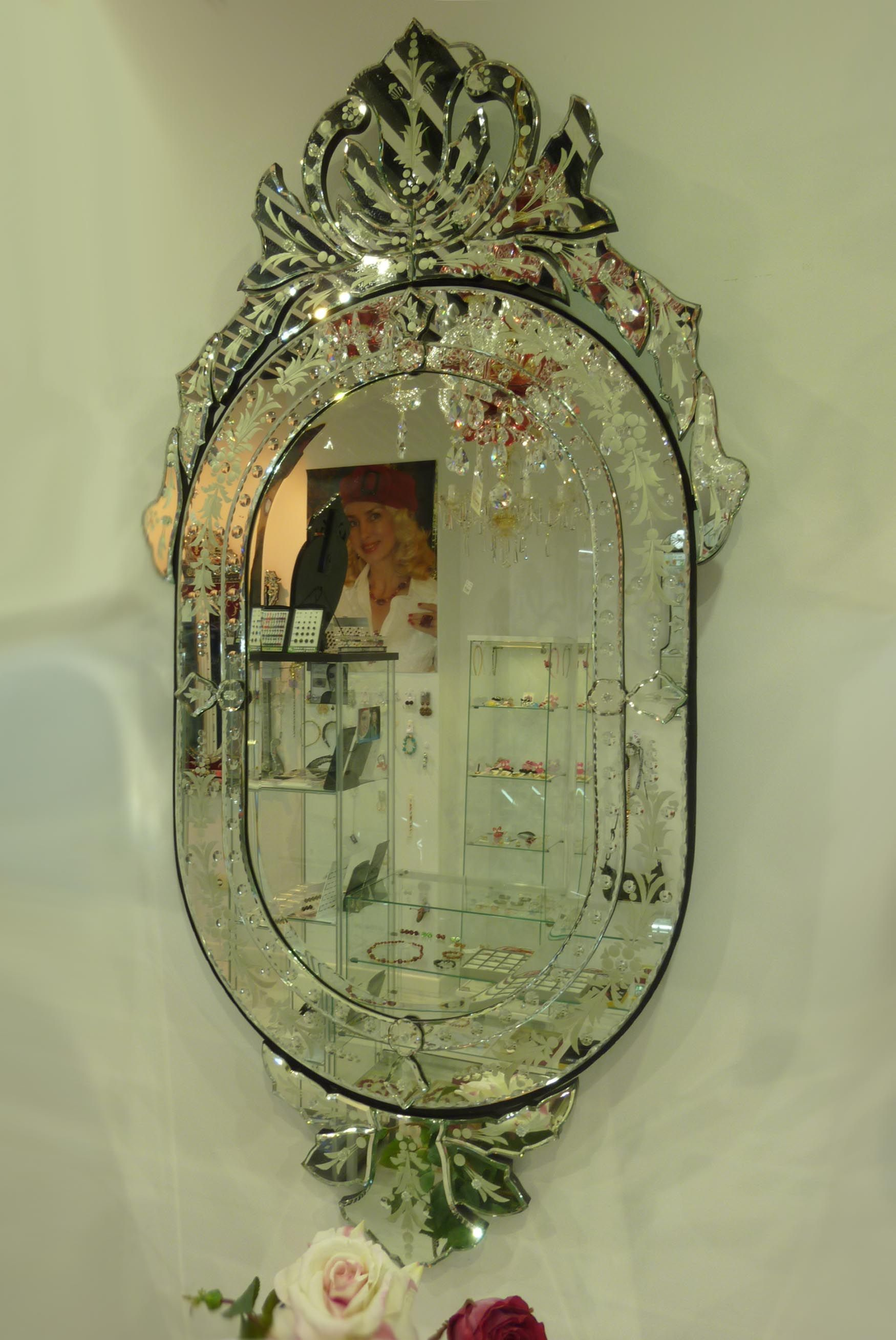 venezianischer spiegel brescia dekoration beltr n ihr. Black Bedroom Furniture Sets. Home Design Ideas