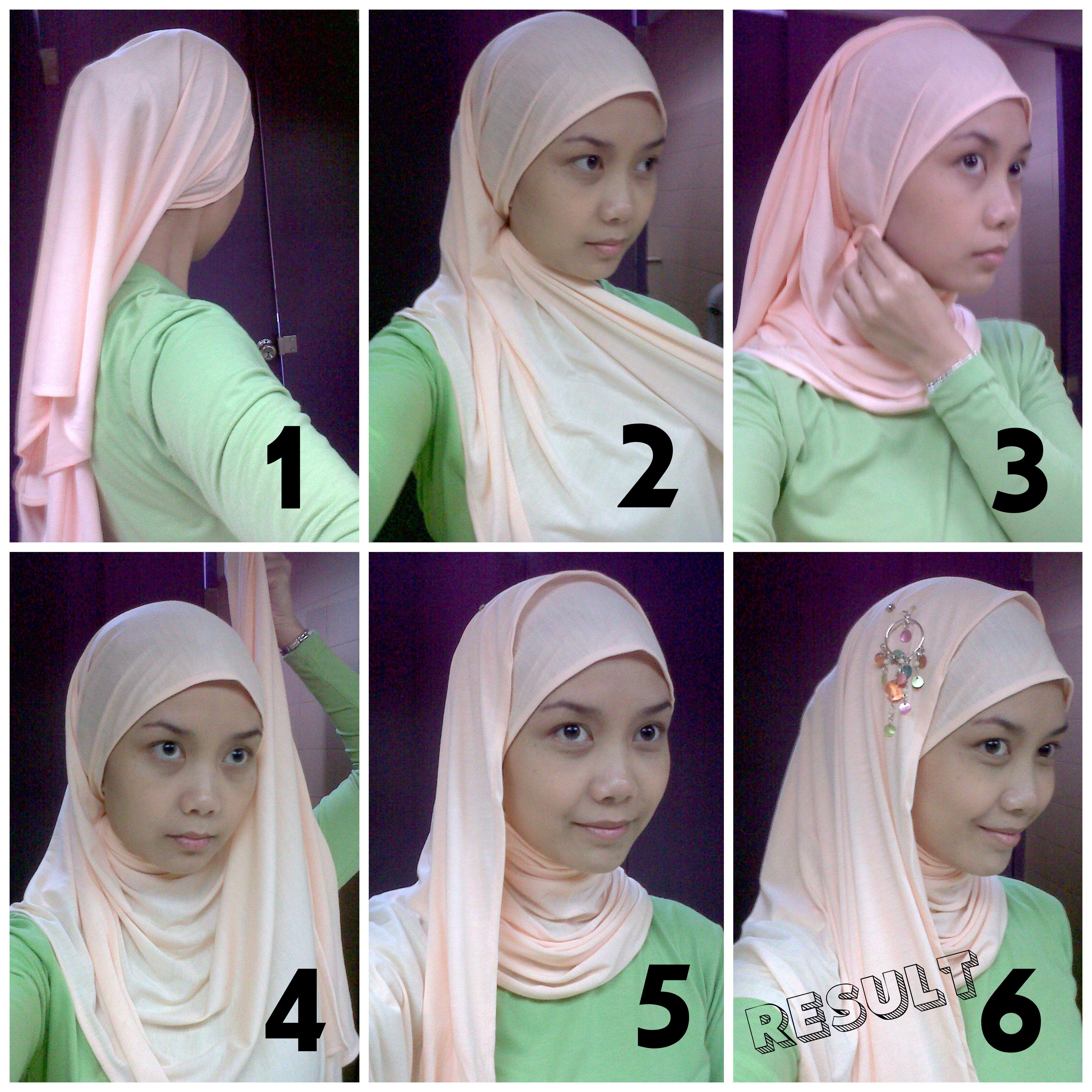 Tutorial Hijab Untuk Pesta Tanpa Ciput Kursus Hijab Hijab Bentuk Wajah