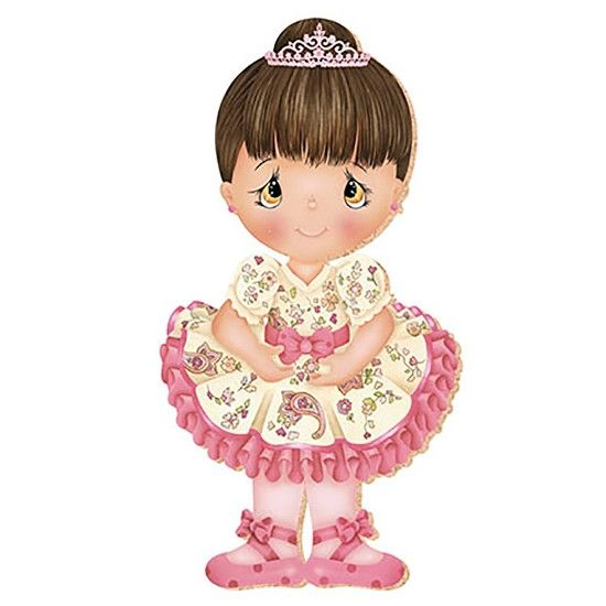 Decoupage aplique em papel e mdf bailarina apm8 248 - Papel decoupage infantil ...