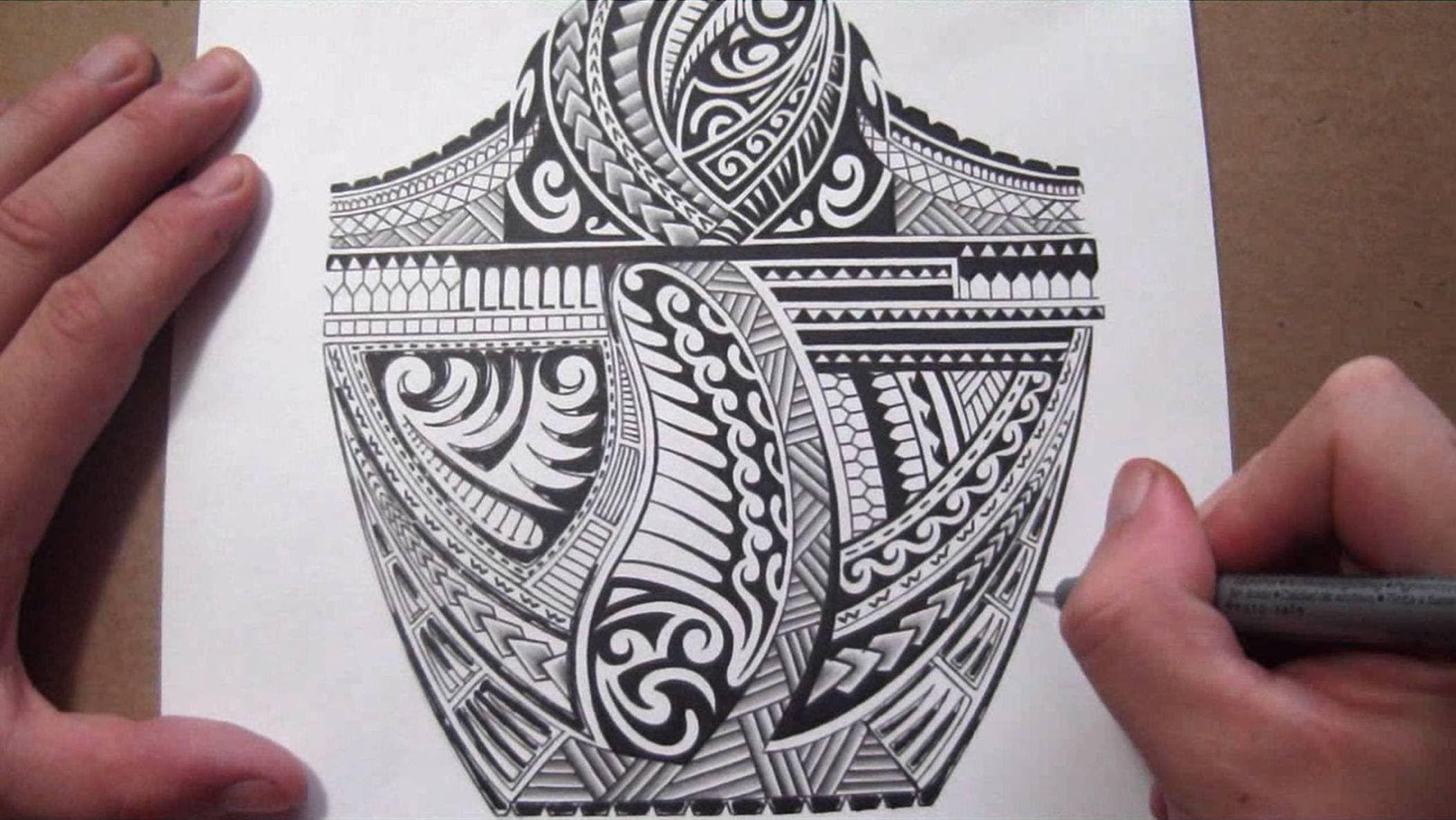 Maori Polynesian Tribal Half Sleeve Tattoo Design - Adding ...  Maori Polynesia...