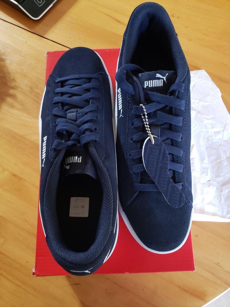 8c59a7437882 Details about Puma Smash   V2 V Straps Men Women Walking Shoes ...