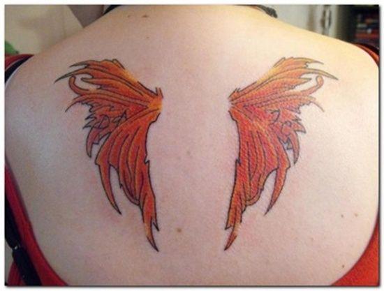 fba24fcfda1f3 Wings Tattoo Design: Valkyrie Wings Tattoo Ideas For Girl On Back ~ Cvcaz  Tattoo Art Ideas ~ Tattoo Design Inspiration