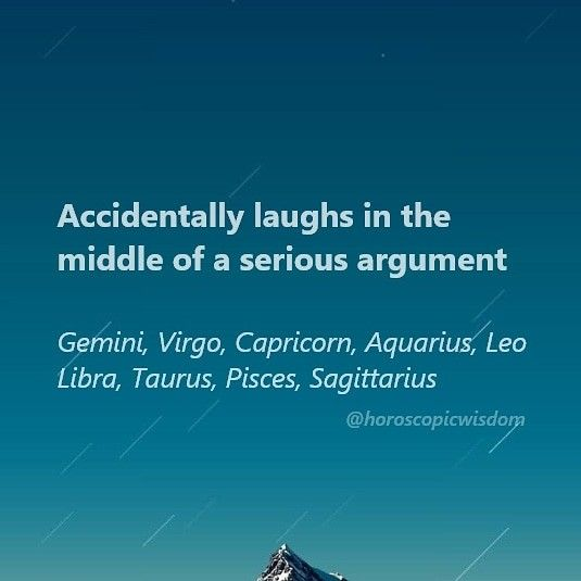 Signs laughing in serious moments