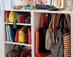 Attirant Store Your Handbags: Shelve Your Clutches U0026 Hang The Rest.must Do With  Extra Closet Space For Purses U0026 Diaper Bags!