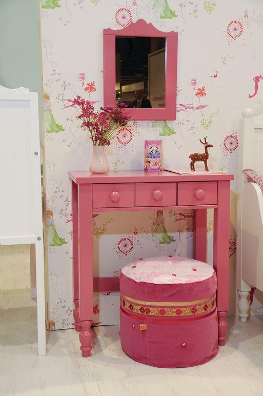 Kaptafel belle kinderkamer in stijl gewoon zo opdracht leeuwarden meidenkamer pinterest - Pastel slaapkamer kind ...