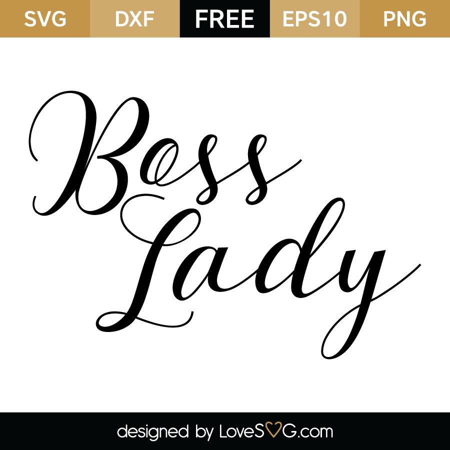 Boss Lady Monograms Cricut Svg Files For Cricut Free
