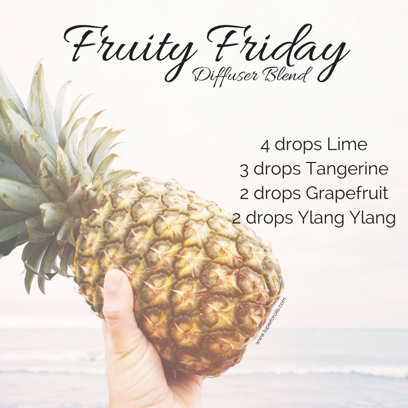 Fruity Friday is a lovely blend of doTERRA essential oils with citrus and floral tones.