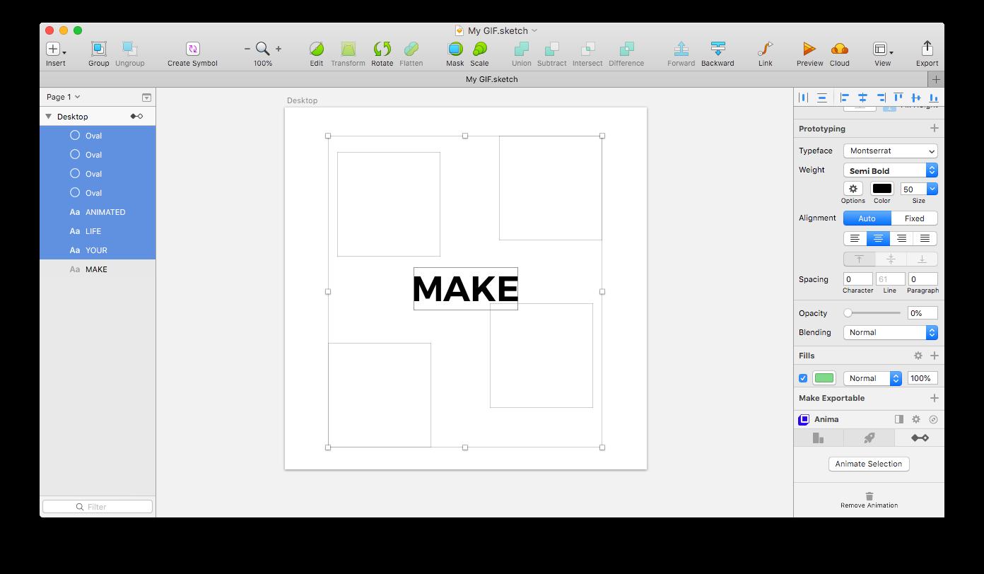 How To Convert Sketch To Gif Prototypr In 2020 Sketch Design Gif Converter