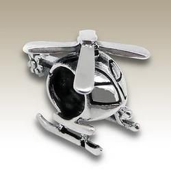 432c61417 Helicopter Charm Bead - Pandora Compatible | Pandora and Charms ...