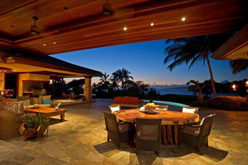 The outdoor living space has become the hottest space to ... on Living Spaces Outdoor Dining id=34071