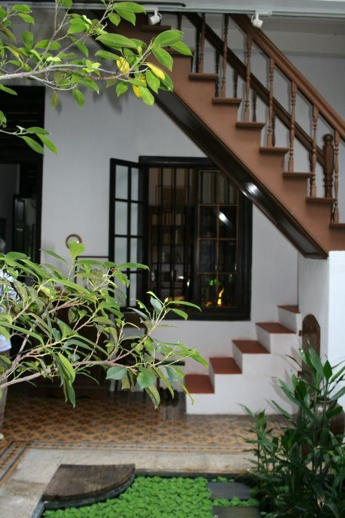 Courtyard Indian House House Exterior House Designs | Interior Staircase Designs For Indian Homes