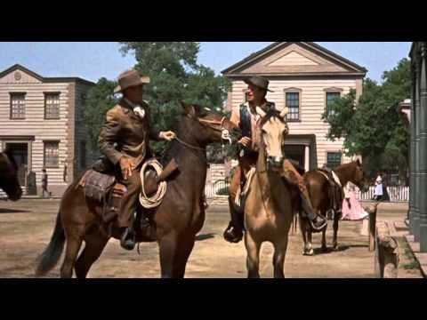 Collision 1957 western Randolph Scott John Carroll Karen Steele Valerie French - YouTube