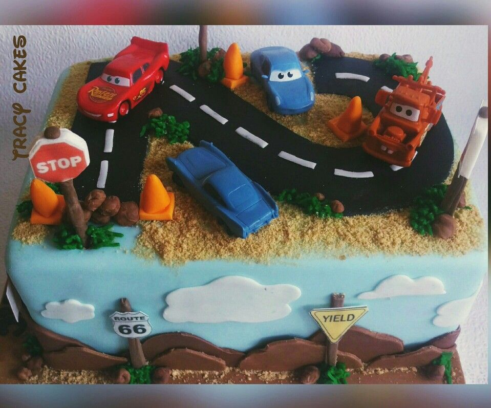 Disney Cars Birthday Cake Disney Cars Boys Birthday Cake