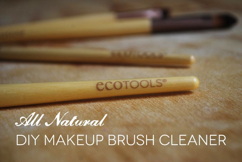 Photo of All natural makeup brush cleaner (great for skin brushes too! thelotusroot.com/….
