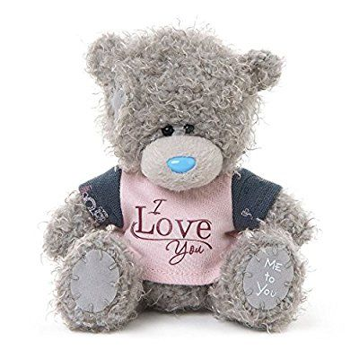 me to you 127 cm i love you ours en peluche pull avec