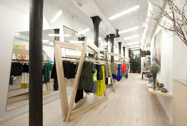 Cut boutique by studiodror new york interior design for Boutique interior designs