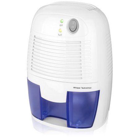 Mini Dehumidifier, Portable Electric Auto Shut off dehumidifiers for Damp Air Mold Moisture in Small Closet Wardrobe Kitchen (Quiet Safe Compact Thermo-electric) - Walmart.com