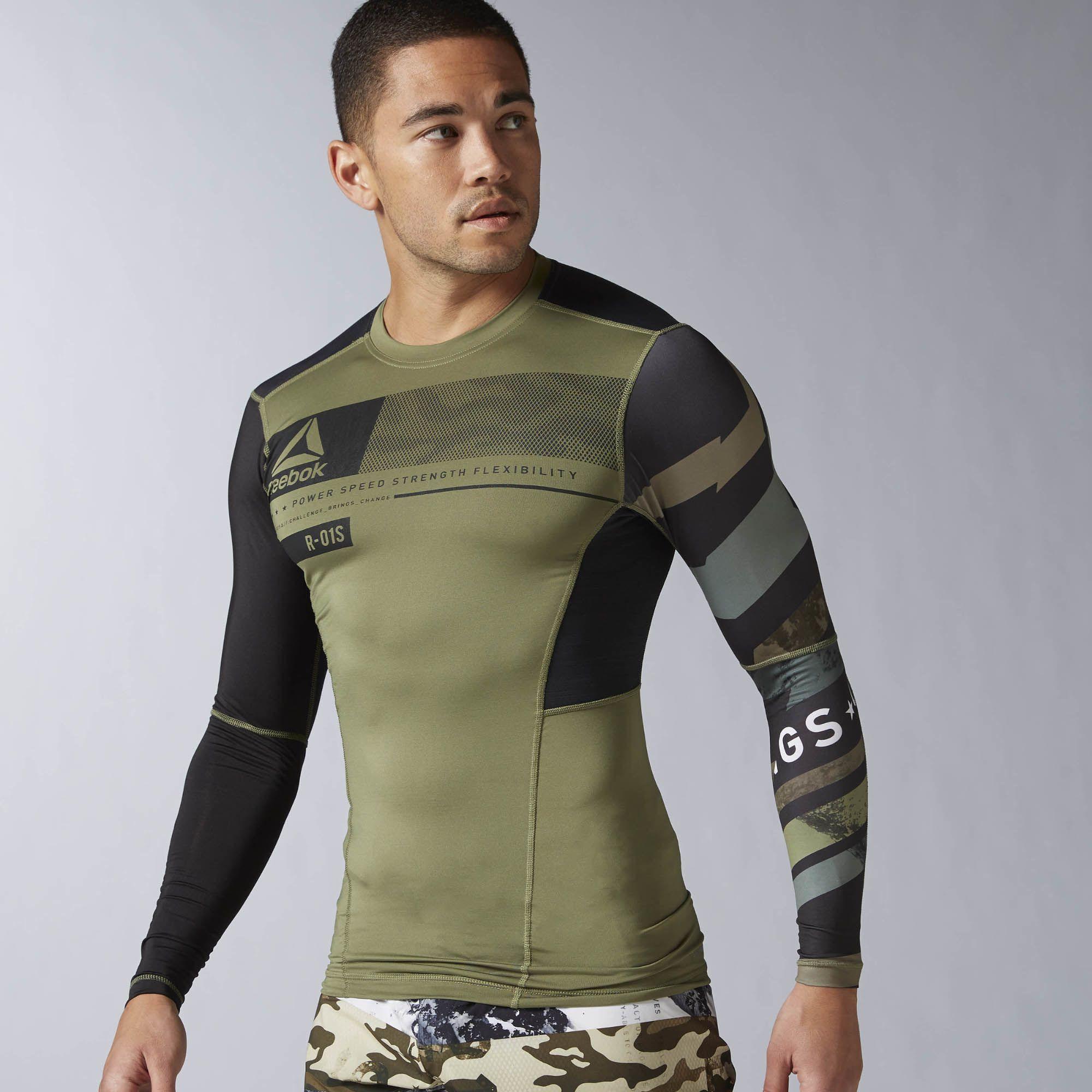 ACTIVCHILL Kleidung | Offizieller Reebok Shop. ReebokMangaLong SleeveTopsBrazilT  ...