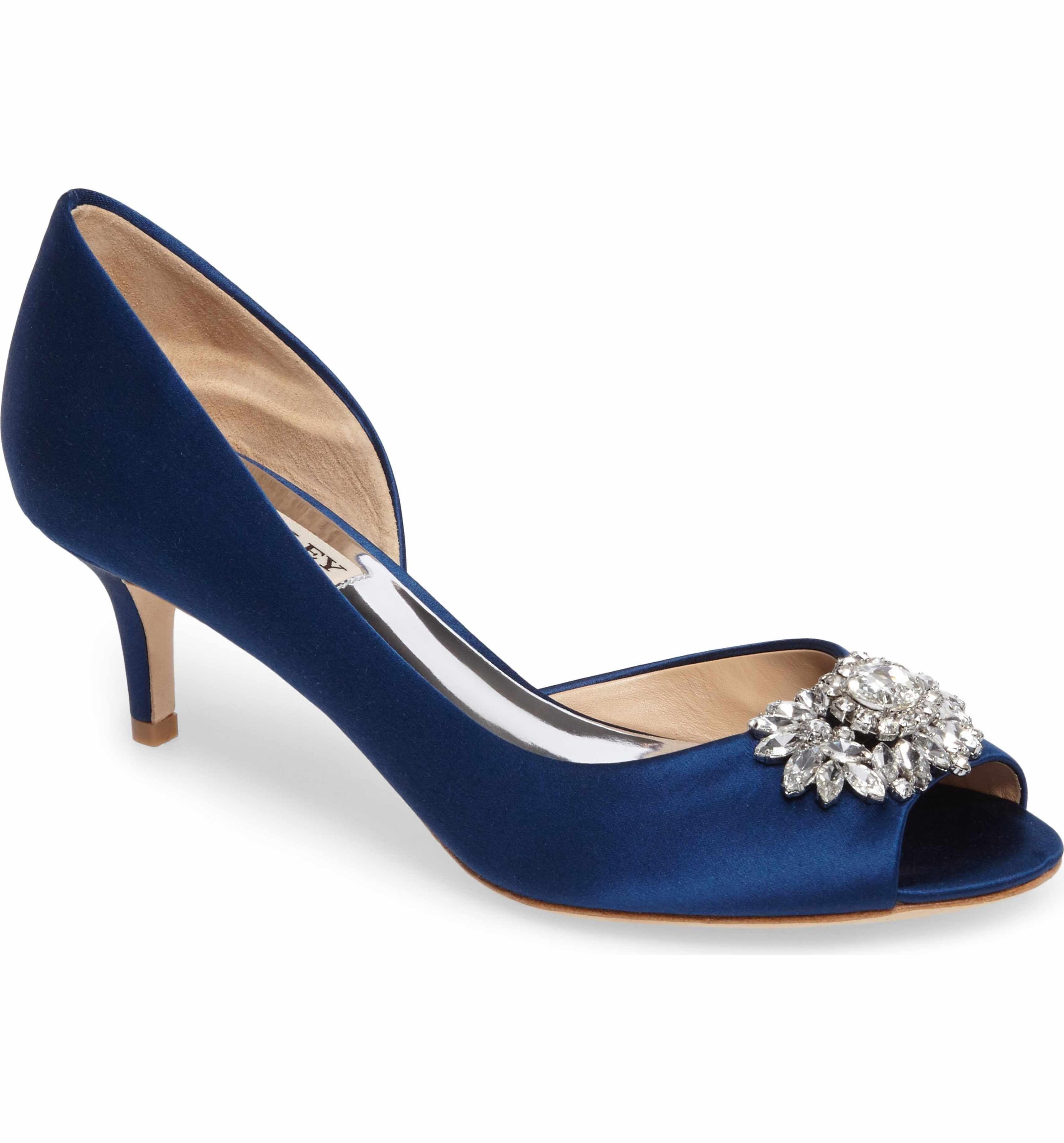 Bridal Shoes At Nordstrom: Badgley Mischka Macie Peep Toe D-Orsay Pump (Women