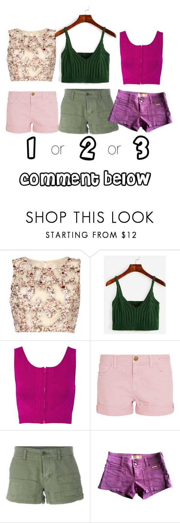 """Untitled #438"" by ellma94 ❤ liked on Polyvore featuring Raishma, Ohne Titel, Current/Elliott, Yves Saint Laurent and John Galliano"