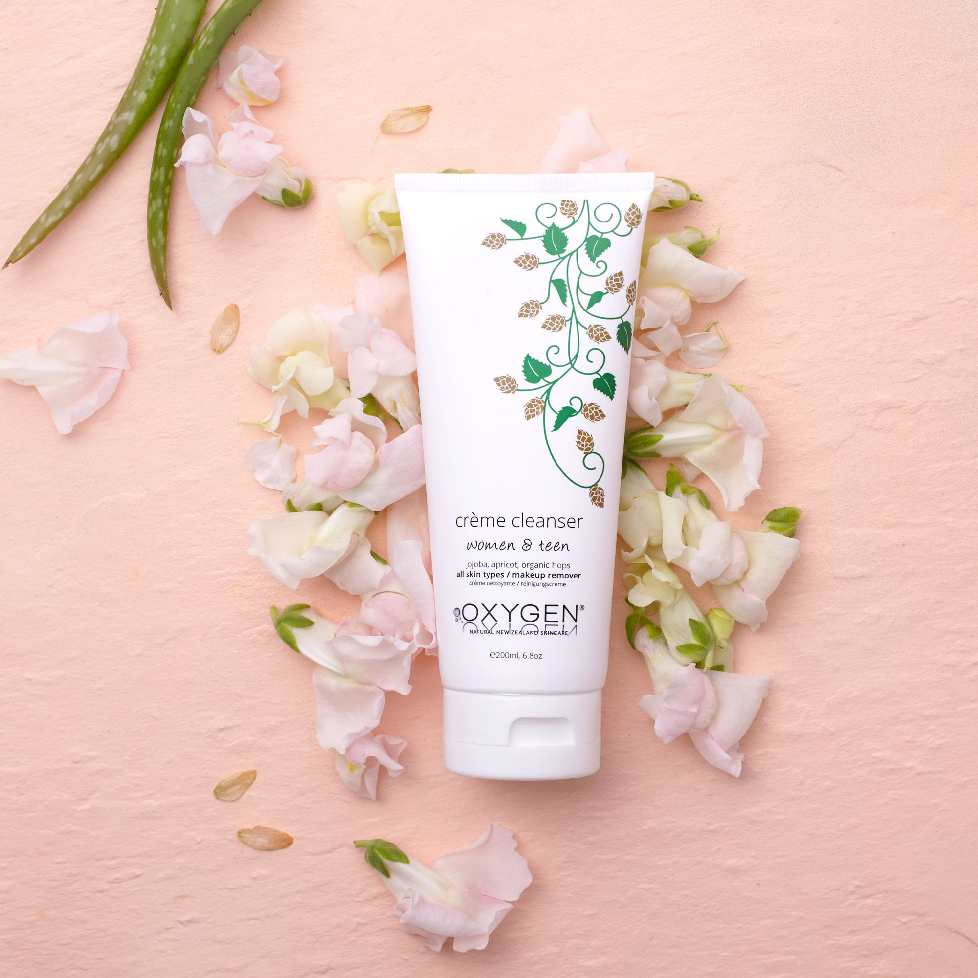 Crème cleanser for normal / combination skin Face