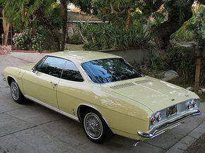 No Reserve: Black-Plate 1965 Chevrolet Corvair Corsa
