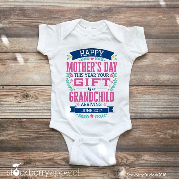 78a823018d6ef Mothers Day Pregnancy Announcement for Grandma Mothers Day First Mothers Day,  Funny Mothers Day,