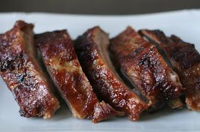 Week of Menus: Korean Non-Spicy Pork Ribs (안 매운 돼지 갈비): Chaos is sometimes great medicine