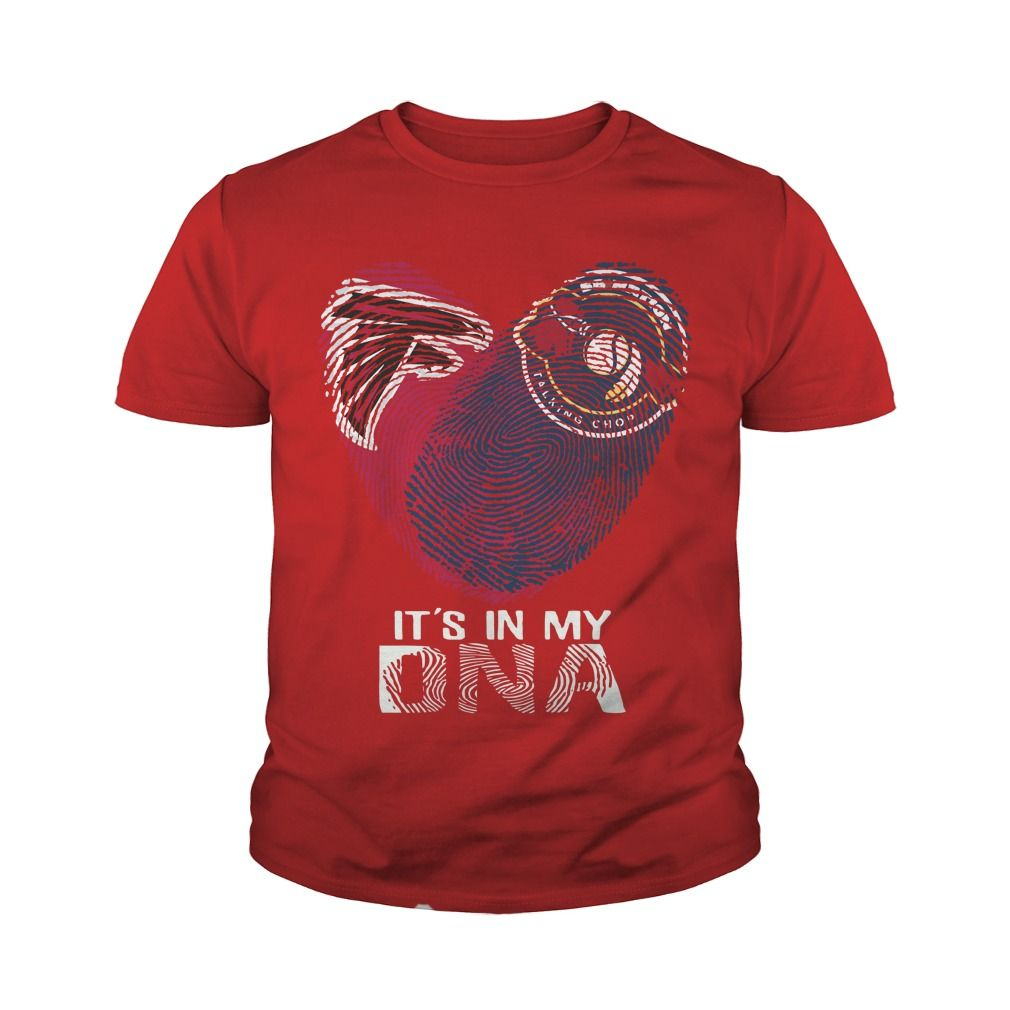 Falcons - Braves It's In My DNA T-Shirt.