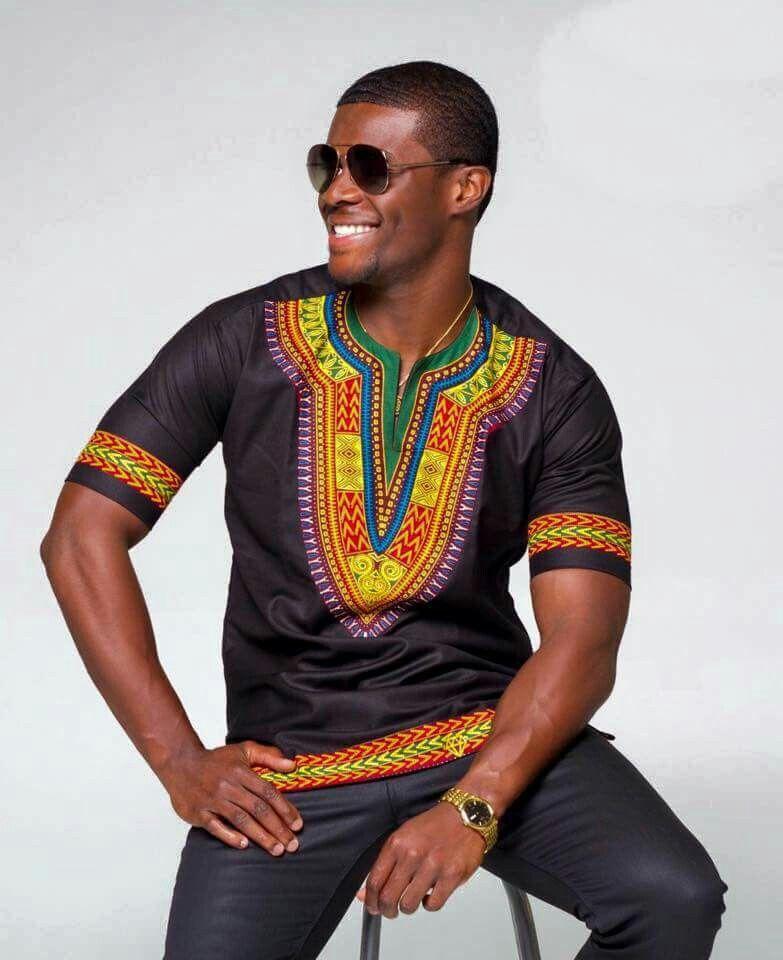 ~African fashion, Ankara, kitenge, African women dresses ... Ankara Print Men