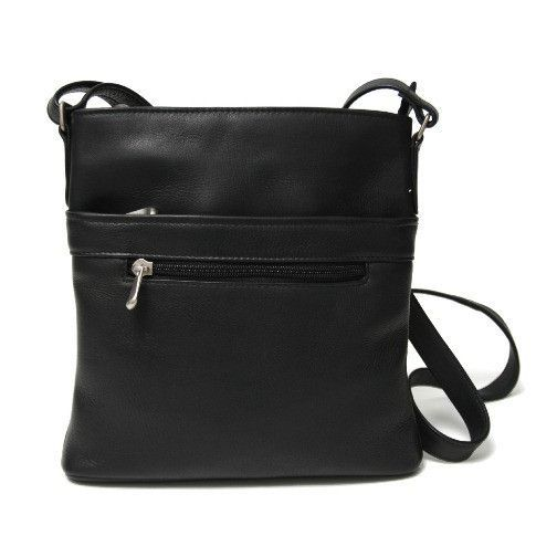 804fd6a5ee38 Royce Triple Zip Crossbody Handbag - Organize to your heart s content with  the Royce Triple Zip Crossbody Handbag . This attractive bag lends stylish  appeal ...